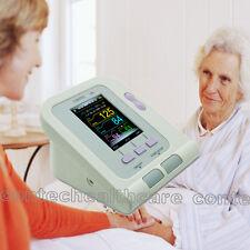 Medidor de velocidad digital de color de monitor de presión arterial Pulso 08A