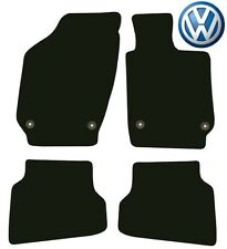 Tailored Deluxe Quality Car Mats Vw Polo 2009 Onwards ** Black ** Hatchback Salo