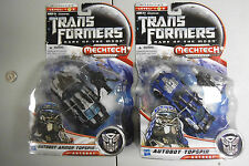 Autobot Topspin & Armor Dark of Moon Transformers Mechtech MISB MOC HTF NU NICE