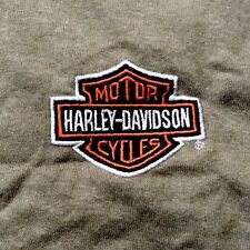Harley Davidson Bar And Shield Army Green Shirt Nwt Men's Large