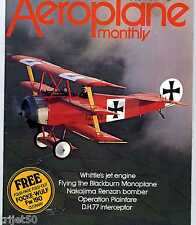 Aeroplane Monthly 1977 April Blackburn Monoplane,DH77,Isaacs Fury,Berlin Airlift