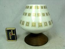 Unusual  70´s design Johann Seltmann Porzellan Vase mit Holzfuß wooden base