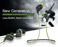 Sports Wireless Magnet Mini Bluetooth Stereo Earphone For All Brand Smart phone