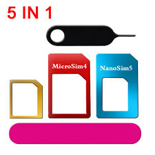 Universal Nano SIM Card to Micro Standard Adapter  Converter Sets for Phone