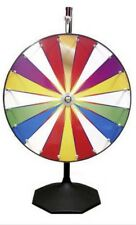 New Dry Erase Color Spin to Win Carnival Prize Wheel / Free shipping