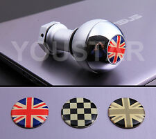 USA STOCK CHROME SHORT Weighted MT Gear Knob MINI Cooper R53 R56 Union Jack #3C