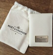 Moet  Chandon Ice Imperial  White  Credit Card Wallet  in  Moet Dustbag