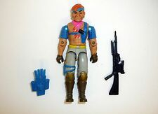 G.I. JOE ZANDAR Vintage Action Figure Dreadnok COMPLETE 3 3/4 C9 v1 1986