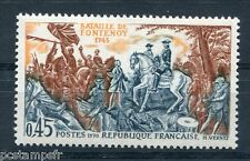 FRANCE 1970, timbre 1657, CHEVAUX, BATAILLE de FONTENOY neuf**
