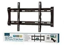 "Lloytron T311S VESA 75 100 200 Black LCD Plasma TV Wall Mount Static 23"" - 37"""