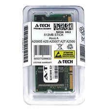 512MB SODIMM Asus A2000S A2S A2000T A2T A2500 A2500D A2500H A2500K Ram Memory