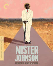 Mister Johnson (Blu-ray Disc, 2015, Criterion Collection) SEALED!