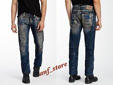 NWT PRPS Goods JAPAN Demon Slim Men Jeans 30 x 32 Faded Illusion Distress $400