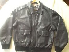 U.S. Army Air Force Jacket Flyer's Leather ... Jacket Type A-2 Size Large Reg.