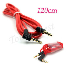 1.2M 3.5mm Jack Male to Male Stereo Headphone Car Aux Audio Extension Cable Hot