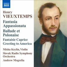 H. Vieuxtemps - Fantasia Appassionata Ballade [CD New] & SEALED
