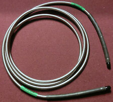 """SMA(Male) to SMA(Male) 0.200"""" O.D. Armored Cable 120"""" ** Brand New** RoHS"""