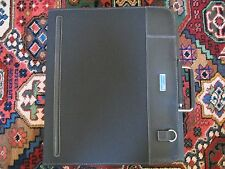 Piquadro black leather+microfiber laptop briefcase/compendium PB2564LA/N