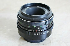CARL ZEISS JENA DDA 50mm f/2.8 M42 Screw Mount Manual Focus Camera Lens