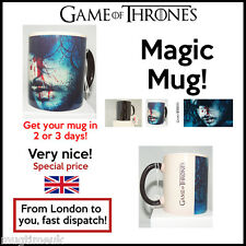 Game of Thrones Changing Magic black heat sensitive Coffee Tea Mug