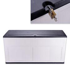 Allzwecktruhe 60x119x46 cm Aufbewahrungsbox Auflagenbox Terrassenbox Stuhlkissen