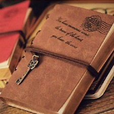 Vintage Notebook Diary String Travel Leather Paper Journal Book Sketchbook