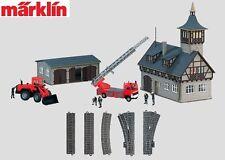 Märklin H0 78000 temas Pack de suplemento Cuerpo de bomberos - NUEVO + EMB.ORIG