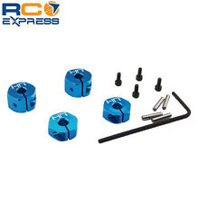Hot Racing ECX 2wd AMP MT / Desert Buggy 12mm Aluminum Wheel Hex Set ECT1006