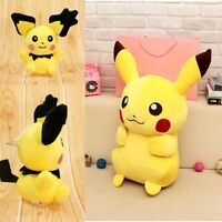 """Japanese Anime POKEMON Pikachu 18cm/6"""" inch Soft Plush Toy Doll Teddy Kids Gift"""