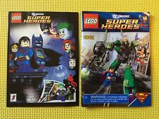 New Lego Instruction Manual & Comic Book ONLY Superman vs Power Armor Lex 6862