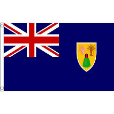 Turks And Caicos Islands Flag 5Ft X 3Ft Caribbean Island National Banner New