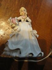 Old IRICE Victorian Lady Porcelain Night Light - CUTE!!