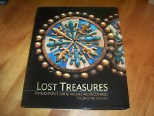 LOST TREASURES Ancient Tombs Gold Hoards Treasure History Silver Artifacts Book