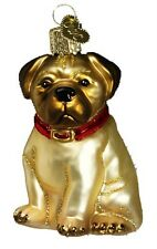New Merck Family Old World Christmas Pugsley Pug Dog Ornament 12149