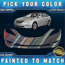 NEW Painted to Match - Front Bumper Cover For 2011 2012 2013 Hyundai Sonata