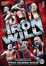 WWE - Iron Will - The Anthology of the Elimination Chamber (DVD, 2010, 3-Disc...