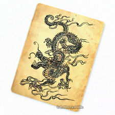 Chinese Dragon Deco Magnet, Decorative Fridge Oriental Mythical Animal Gift