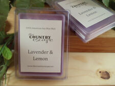 Lavender and Lemon Scented Soy Wax Clamshell Melt Tart- 2wks of Fragrance