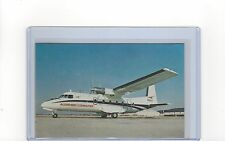 Allegheny Airlines issued Nord 262 postcard
