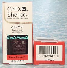 NEW CND Shellac GARNET GLAMOUR 14+ Day UV LED Gel Color Nail Polish ~ STARSTRUCK