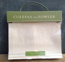 Colefax and Fowler fabric sample book 'Hammond' mostly linen & linen union