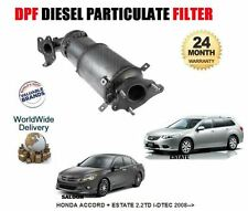 FOR HONDA ACCORD 2.2TD 2008--  NEW DPF DIESEL PARTICULATE FILTER 18190-RL0-G00
