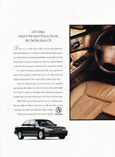1996 Acura 3.5 RL 2-page Original Advertisement Car Print Ad J510