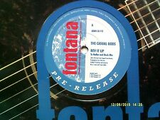 """THE CASUAL GODS REV IT UP 12"""" PROMO SINGLE 1987 N/MINT"""
