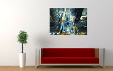 MANAHATTAN NEW YORK NEW GIANT LARGE ART PRINT POSTER PICTURE WALL