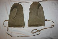 WWII WW2 MILITARY WARM Wool GLOVES FOR WINTER Sniper GERMAN ARMY