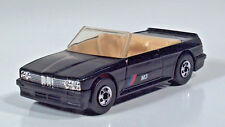 "1989 Hot Wheels BMW M3 Convertible 3"" Scale Model Black"