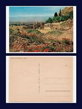 MIDDLE EAST IRAN VIEW OF SHIRAZ CONTINENTAL SIZE POSTCARD CIRCA 1954