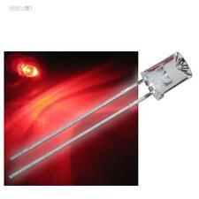 10 LEDs 5mm cóncava ROJO con Accesorios rojos cóncava LED Rojo