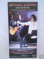 Michael Jackson Give In To Me 3' no Promo Japan ESDA 7125 RARE 1991